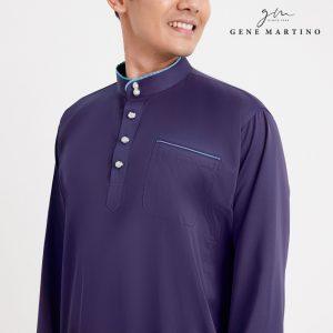 Gene Martino Nadir Baju Melayu Traditional MA950FA 78 Purple