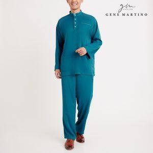 Gene Martino Nadir Baju Melayu Traditional MA950FA 88 Emerald Green