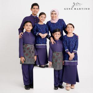 Gene Martino Nadir and Natiqah Sedondon 950FA 78 Purple