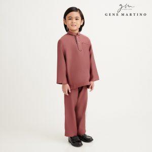 Gene Martino Nurhan Baju Melayu Without Pesak UA1037FA 33 Auburn Brown