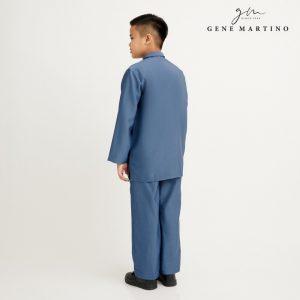 Gene Martino Nurhan Baju Melayu Without Pesak XA1037FA 73 Dusty Blue