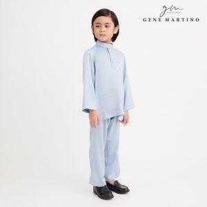 Gene Martino Remy Baju Melayu Modern UA991FA 73 Light Blue