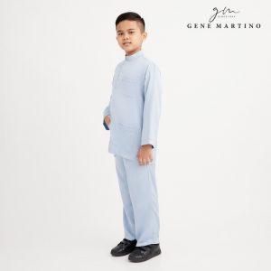 Gene Martino Remy Baju Melayu Modern XA991FA 73 Light Blue