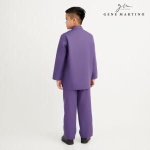 Gene Martino Syaqir Baju Melayu Modern XA1027FA 69 Dark Purple